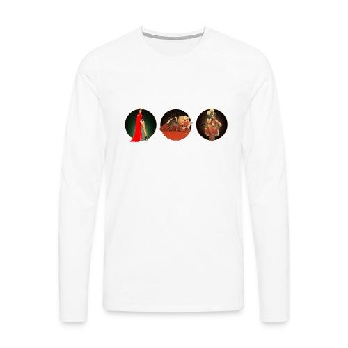 Pinup your Life - Xarah as Pinup 3 in 1 - Men's Premium Longsleeve Shirt