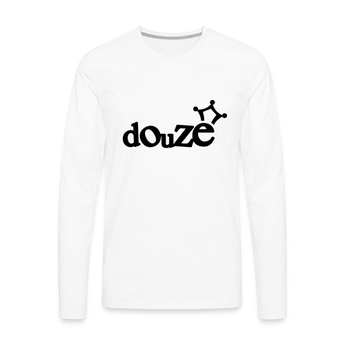 logo_douze - T-shirt manches longues Premium Homme