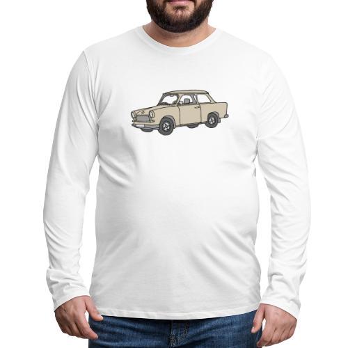 Trabi, Trabant (papyrus) - Männer Premium Langarmshirt