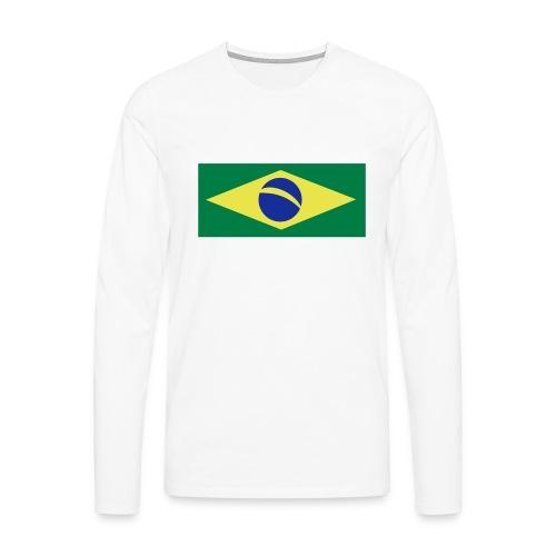 Braslien - Männer Premium Langarmshirt