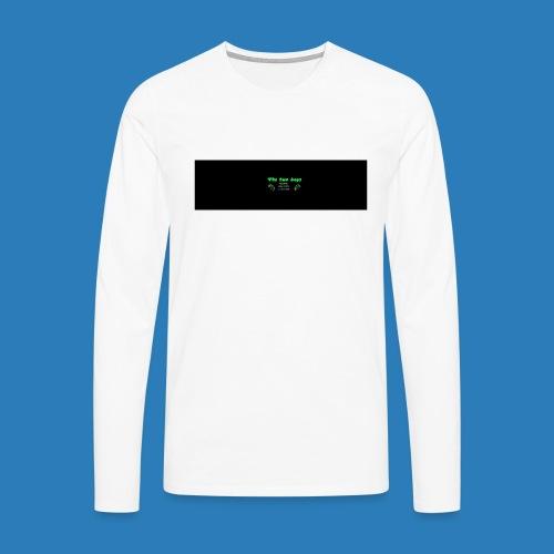 tetete-png - Herre premium T-shirt med lange ærmer