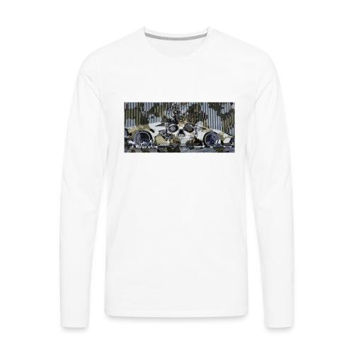 calavera style - Men's Premium Longsleeve Shirt