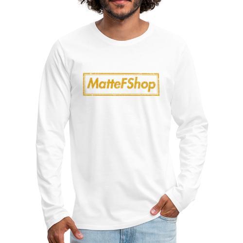 Gold Collection! (MatteFShop Original) - Maglietta Premium a manica lunga da uomo