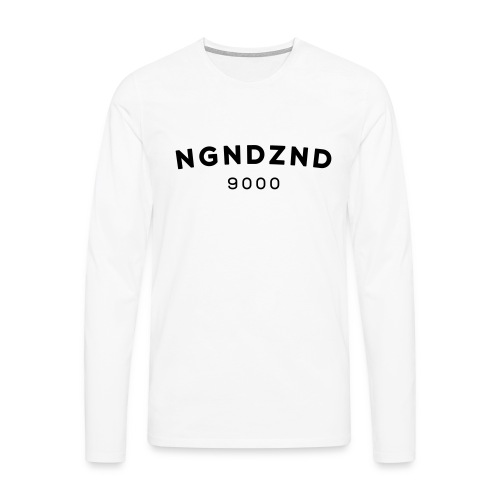 NGNDZND - Mannen Premium shirt met lange mouwen