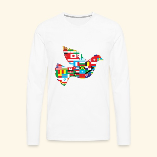countrys t-shirt - Camiseta de manga larga premium hombre