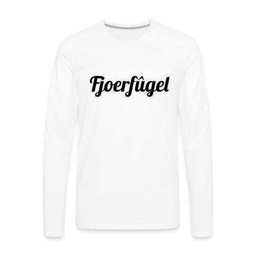 fjoerfugel - Mannen Premium shirt met lange mouwen