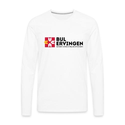 bule-kopp - Premium langermet T-skjorte for menn