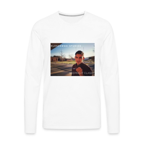 Keep it classy - Männer Premium Langarmshirt