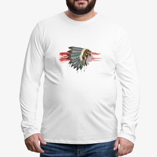 Native american - T-shirt manches longues Premium Homme