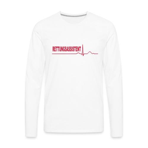 Rettungsassistent - Männer Premium Langarmshirt