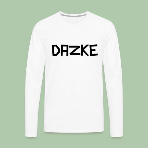 dazke_bunt - Männer Premium Langarmshirt