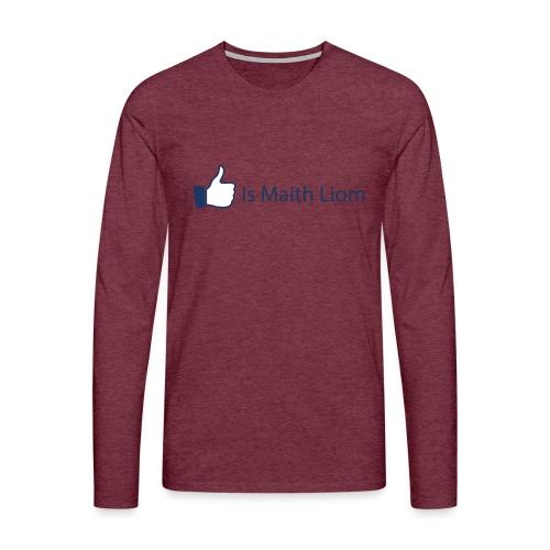 like nobg - Men's Premium Longsleeve Shirt