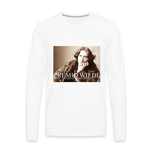 Wilde european award - Maglietta Premium a manica lunga da uomo