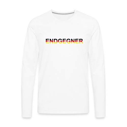 ENDGEGNER - Männer Premium Langarmshirt