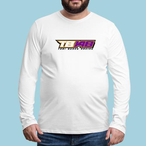 Tobi Logo schwarz - Männer Premium Langarmshirt