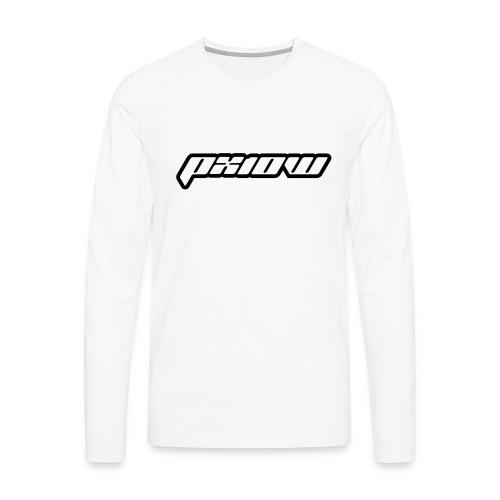 px10w2 - Mannen Premium shirt met lange mouwen