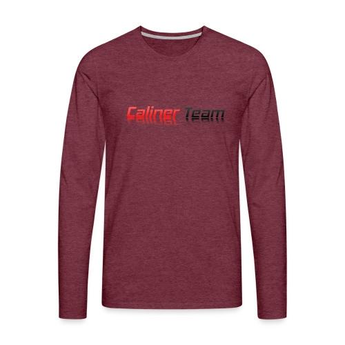 Caliner Team Tazza - Maglietta Premium a manica lunga da uomo