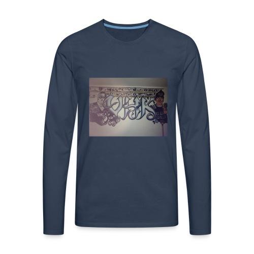 Værebro - Herre premium T-shirt med lange ærmer