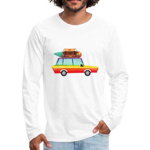 Gay Van   LGBT   Pride - Männer Premium Langarmshirt