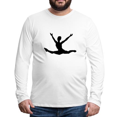 Danseuse moderne - T-shirt manches longues Premium Homme