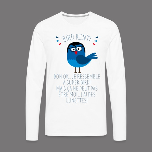 Bird Kent - T-shirt manches longues Premium Homme