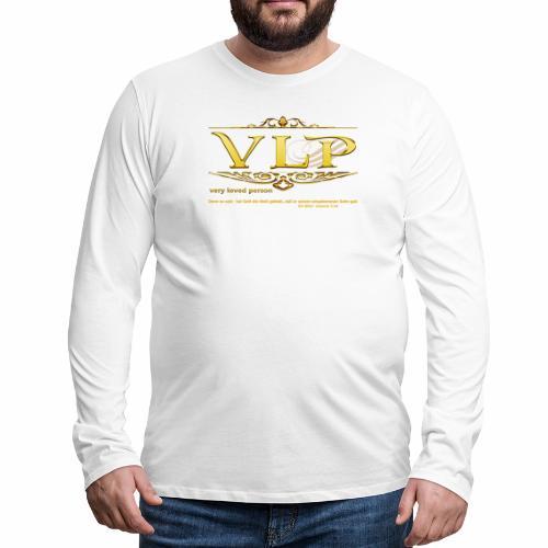 very loved person - Männer Premium Langarmshirt