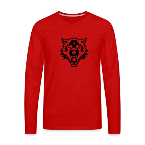 The Person - Mannen Premium shirt met lange mouwen