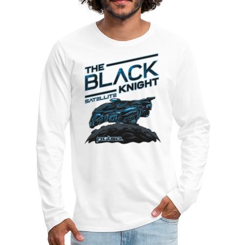 The Black Knight Satelite (Pulse) (Light) - Männer Premium Langarmshirt