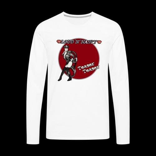 Teaser 80s - Långärmad premium-T-shirt herr