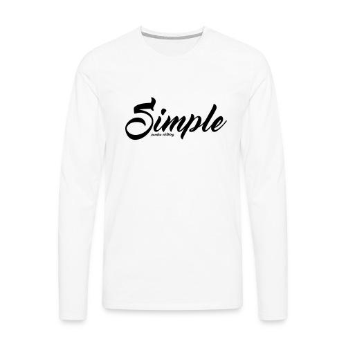 Simple: Clothing Design - Men's Premium Longsleeve Shirt
