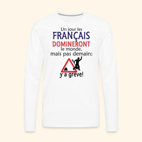 domination française - T-shirt manches longues Premium Homme
