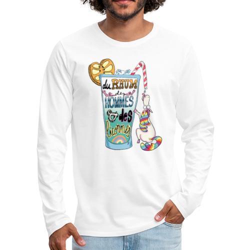 Du Rhum et des Licornes ! - T-shirt manches longues Premium Homme