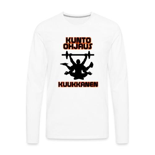 Focus training - Miesten premium pitkähihainen t-paita