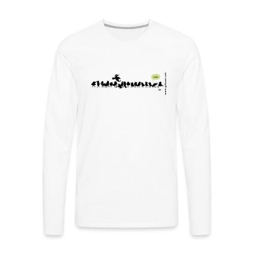 Corvids: ¡es una multitud! - Camiseta de manga larga premium hombre