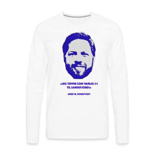 Horntvedt - Premium langermet T-skjorte for menn