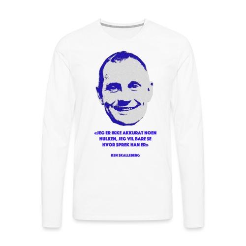 Skalleberg - Premium langermet T-skjorte for menn