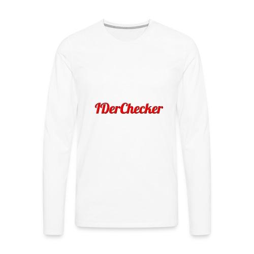 IDerChecker - Männer Premium Langarmshirt
