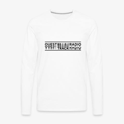 Logo Long noir - T-shirt manches longues Premium Homme