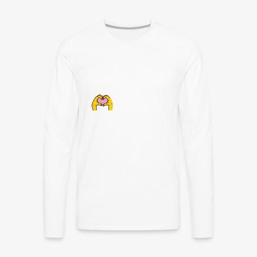 Manos - Camiseta de manga larga premium hombre