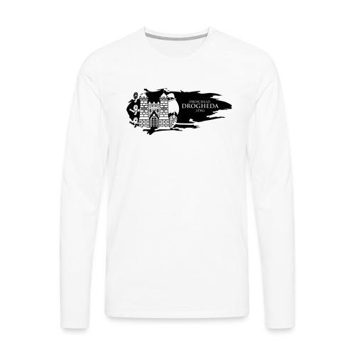 Drogheda Laurences Gate Black - Men's Premium Longsleeve Shirt