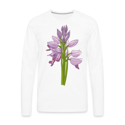 ORCHIDEE - T-shirt manches longues Premium Homme