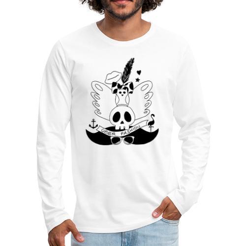 ÜBER FASHION - T-shirt manches longues Premium Homme