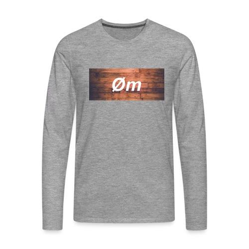 Øm Clothing Basic 2 - Herre premium T-shirt med lange ærmer
