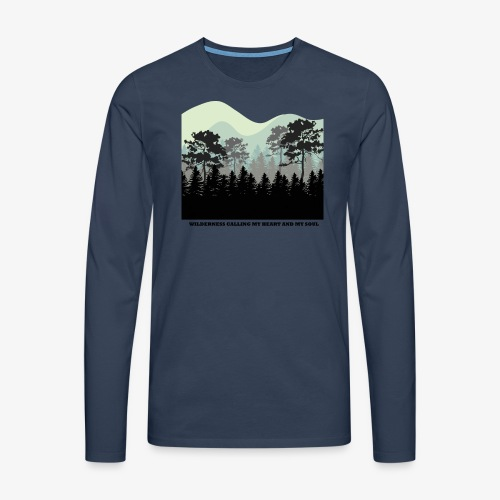 wearenature2 - Men's Premium Longsleeve Shirt
