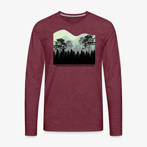 wearenature2 - Men's Premium Longsleeve Shirt