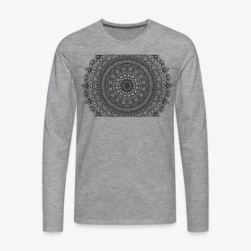 mandala3 - Men's Premium Longsleeve Shirt