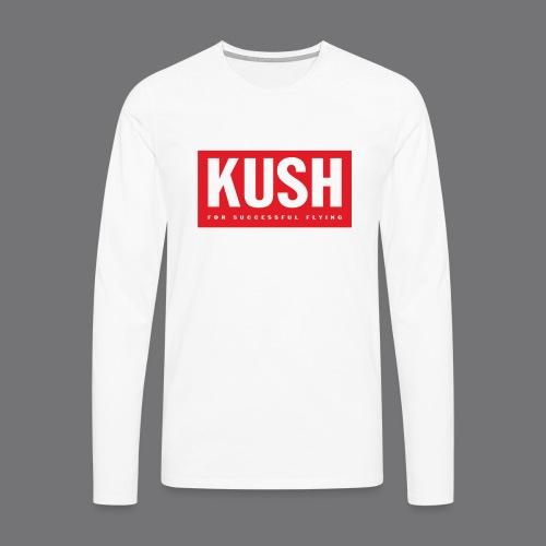 KUSH Tee Shirts - Men's Premium Longsleeve Shirt
