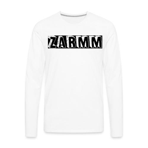 Zarmm collection - T-shirt manches longues Premium Homme