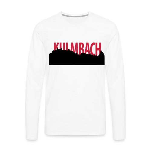 skyline_ku_schrift - Männer Premium Langarmshirt