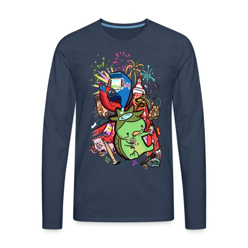 t shirt design best of 2012 by toen d5qaap9 png - Mannen Premium shirt met lange mouwen